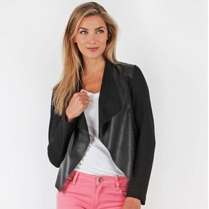 Kut from the Kloth Lincoln Vegan Leather Jacket